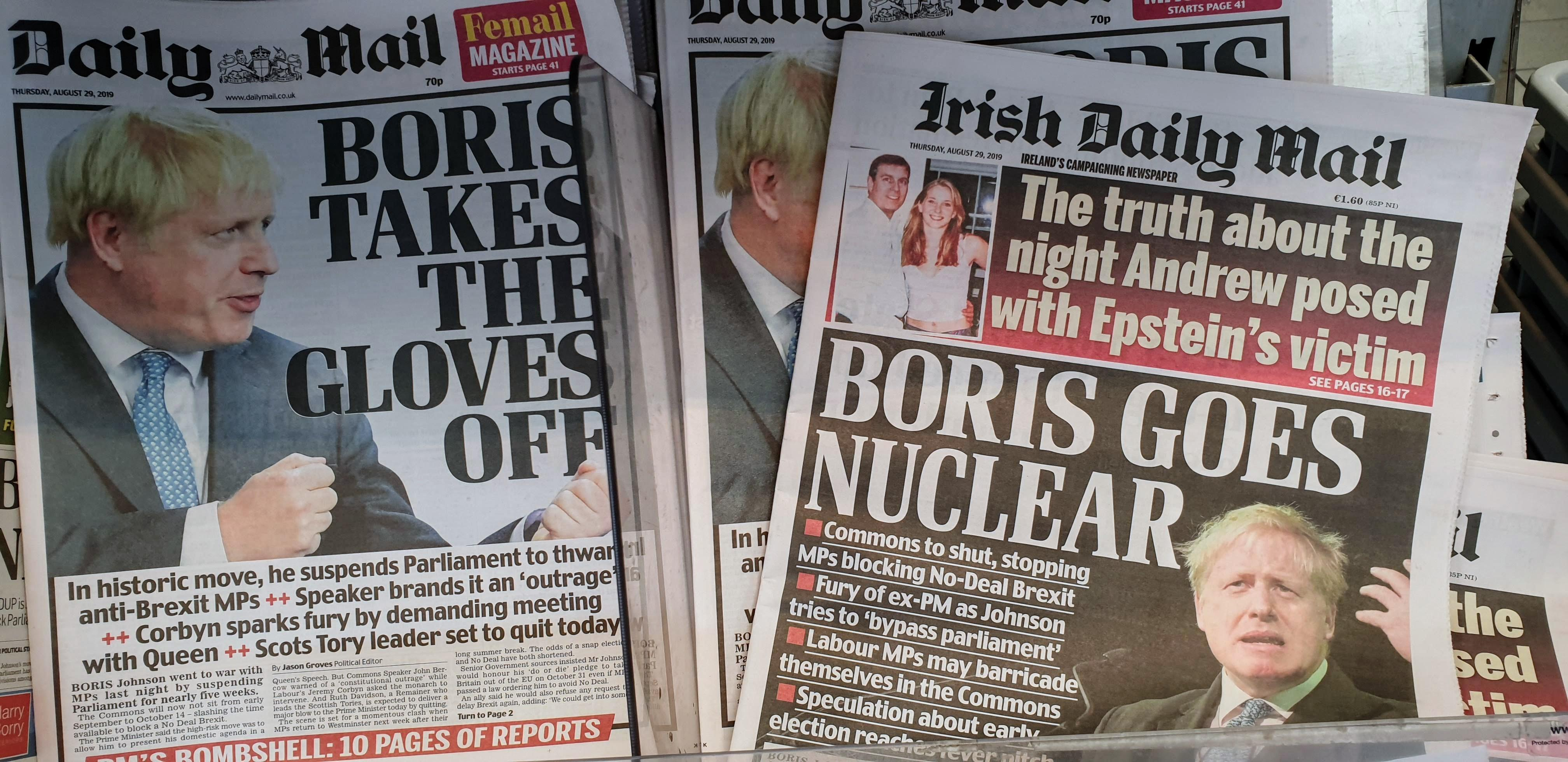 Crisis en Reino Unido