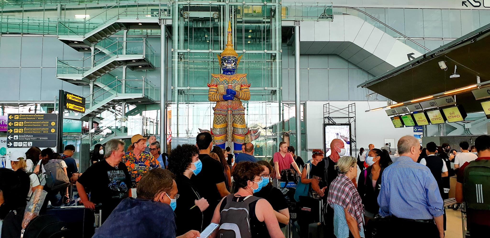Aeropuerto de Bangkok