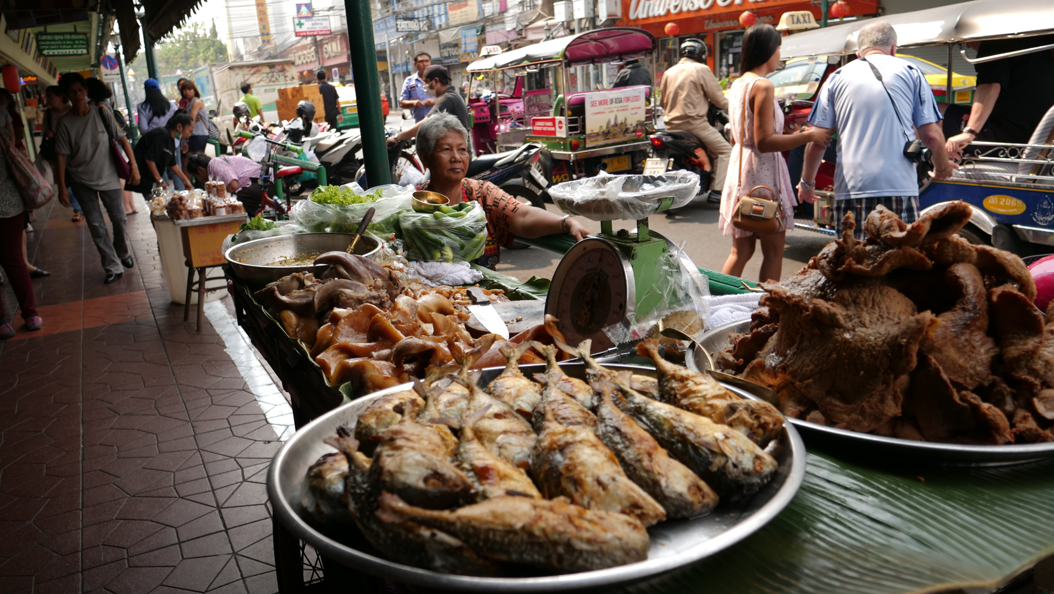 Comida callejera, Bangkok